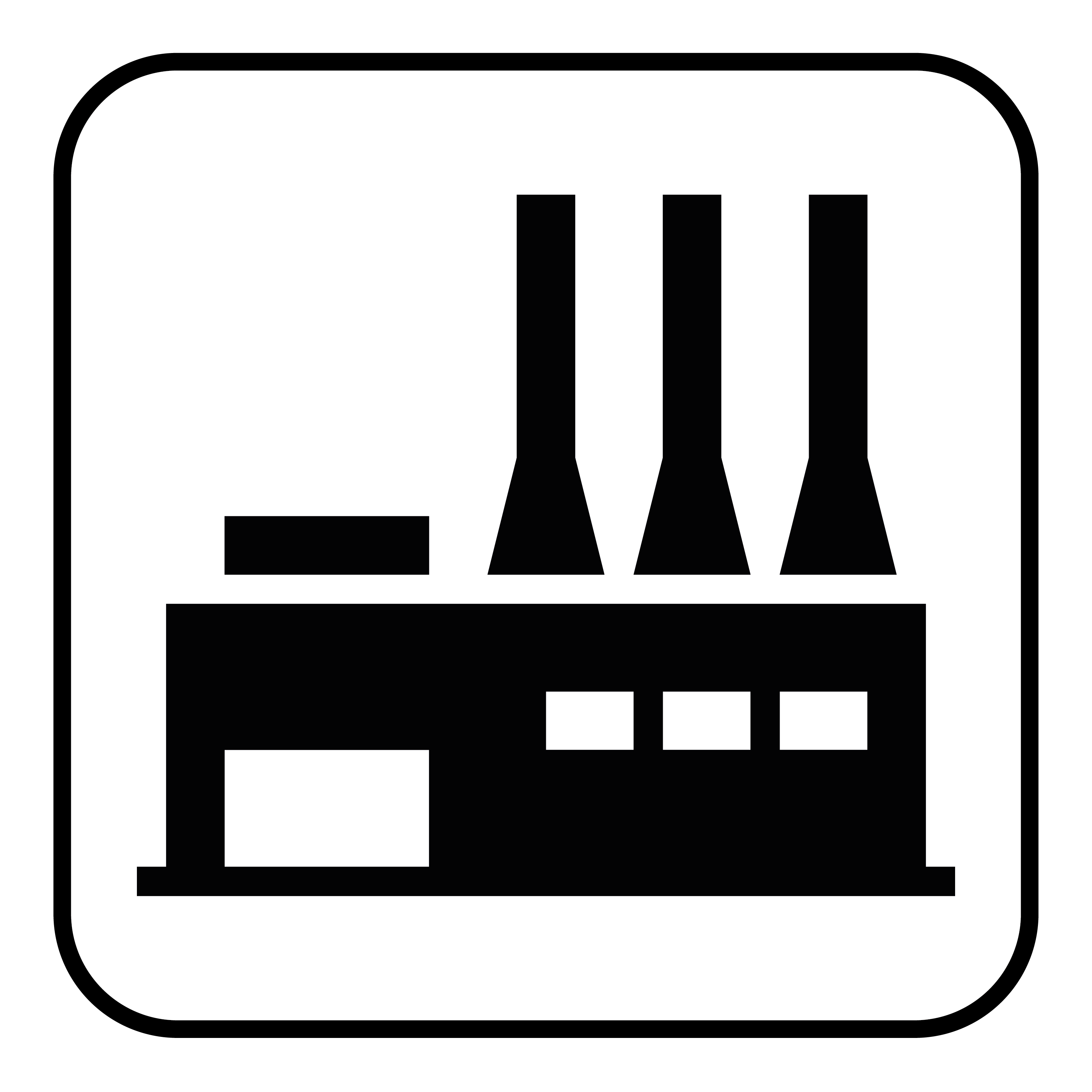 industrial hall icon